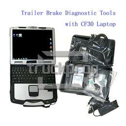 truck cables NZ - TruckProg Truck Diagnostic Tools for Trailer System Diagnosis UDIF Diagnostic Scanner with Laptop Cables