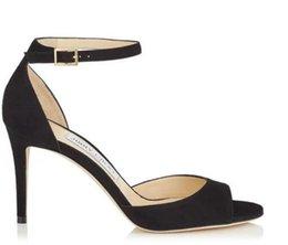 34d360e4f Luxury style high heel sandals ladies shoes Paris supermodel catwalk buckle  sexy shoes size 34-42 b3