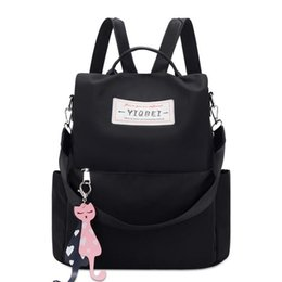 $enCountryForm.capitalKeyWord NZ - Backpack female new Oxford cloth Korean version of the tide wild fashion canvas backpack Backpack Style
