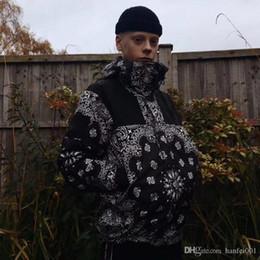 DANN X BOX LOGO Marke BANDANA MOUNTAIN PARKA Jacken Mode Männer Frauen Paar Oberbekleidung Wasserdichte Hip Hop High Street Coat HFJK035 im Angebot