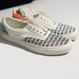 74cb2c7f8a3e9 New Fear Of God x PacSun Era 97 Reissue Canvas Shoes Mens Women Running  Casual Shoes Black white Sport Sneaker 35-45