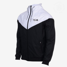 $enCountryForm.capitalKeyWord UK - Designer Mens Sports Brand Team Jackets Club Windbreaker Coats Print Zipper Hoodies Running Outwear Top Quality