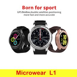$enCountryForm.capitalKeyWord Australia - Bluetooth Smart Watch L1 Smartwatch sport watch For Apple iPhone ios Android Phone GSM SIM Card heart rate monitor GPS smartwatch cellphone