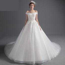 Maternity Wedding Dresses Long Train For Pregnant 2019 Off Shoulder Lace  China Bridal Gowns Robe De Mariage Vestido De Noiva 1a0a6652d95e
