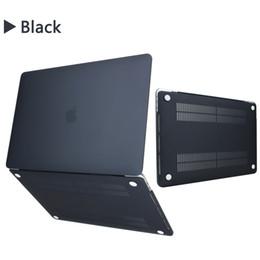 Vente en gros Coque pour MacBook Air Pro 11 12 13 13 pouces Coque dure pour ordinateur portable Coque avant matte pour ordinateur portable Coque Shell Cover A1369 A1466 A1708 A1278 A1465