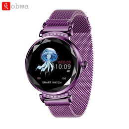 android smart watch for woman 2019 - Fashion Women Smart Watch H2 lady Heart rate Blood Pressure monitering waterproof Fitness Sports Bracelet For Android IO