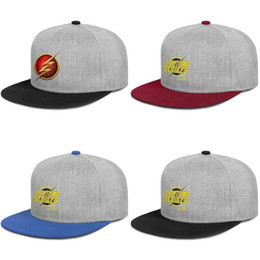 $enCountryForm.capitalKeyWord Australia - The Flash (Barry Allen) logo dc comic 2019 new men's women's fashion Bucket cap Sun hat Golf Hats Cadet Army Caps Animation Factory Art