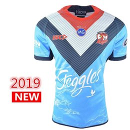 55bde6ec417 2019 2020 SYDNEY ROOSTERS Home ANZAC rugby Jerseys NRL National Rugby  League shirt nrl jersey MEN'S AUCKLAND 9'S JERSEY shirts s-3xl