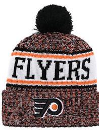 $enCountryForm.capitalKeyWord Australia - Philadelphia Flyers Ice Hockey Knit Beanies Embroidery Adjustable Hat Embroidered Snapback Caps Orange White Black Stitched Hat One Size 00