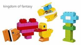Detectar conjunto básico bloco de construção, blocos de construção de brinquedo duplo, Duplo My First Meus primeiros tijolos 10848 em Promoção