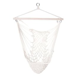 $enCountryForm.capitalKeyWord Australia - Cotton Rope Hammock Net Swing Hanging Chairs Kids Adults Outdoor Cradles for Outdoor Camping Picnic Hammocks