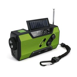 read speaker NZ - Solar Crank NOAA Weather Radio For Emergency with AM FM, , Reading Lamp And 2000mAh Power Bank