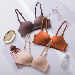 front closure wireless bras NZ - Fashion Seamless Front Closure Bralette Sexy Backless Push Up Bra Adjusted Lingerie Comfort Wireless Bras For Women