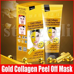 lift facial mask NZ - Gold Collagen Peel Off Facial Mask Face Care Face Masks Skin Care Face Lifting Firming Mask 120ml