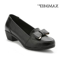 women office clothing Australia - Cheap Shoes Genuine Leather Bomb For Women Of Women With Platform Size Big High Quality Brand Women Clothes From Office Spring Fall Shammep
