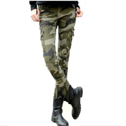 2020 mode Camo jeans slim femme jeans camouflage crayon taille plus mince jean femme pantalones vaqueros mujer 0421