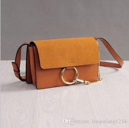 $enCountryForm.capitalKeyWord Australia - Designer bags new HK inclined shoulder bag star in same one shoulder handbag chain ring photo bag bag leather handbag wholesale