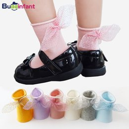 10fcbce00ec6 girls socks with bows kids lace socks for toddler girls baby frilly girl  tutu dress bow solid candy color fashion