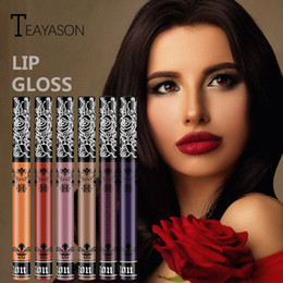 $enCountryForm.capitalKeyWord Australia - 15 Colors Make Up Lips Matte Liquid Lipstick Waterproof Long Lasting Sexy Pigment Nude Glitter Style lip Gloss Beauty
