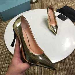 e206b664abda Gold Silver So kate Shoes Lady T Show Party Pumps Slip on Stiletto heel  Women s Wedding Bridal Dress Shoes