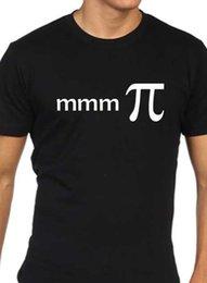 Funny nerd shirts online shopping - Mmm Pi Funny mens t shirt geek nerd maths pie equation
