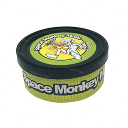 13 Flavors Space Monkey Meds Self Sealed Press Tin Cans 73*23mm 3.5 Grams Cali Tin Cans dry herb flower Packaging VS Smartbud Tin Cans from kangertech nano vape manufacturers