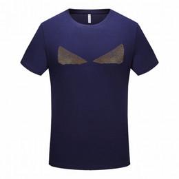 Types prinTing shirTs online shopping - Summer Men s Designer T shirt Special Monster Printing T shirt Luxury Men t shirts Comfortable Loose Type F Simple Fashion shirts
