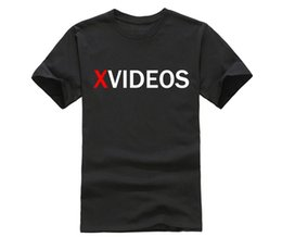 $enCountryForm.capitalKeyWord Canada - Famous Brand Men T-Shirt XVIDEOS LOGO T Shirt Men's T Shirt Large And Tall Tee Cotton Crew Neck High Quality TShirt