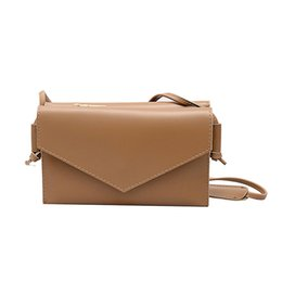 $enCountryForm.capitalKeyWord Australia - Women Messenger Bag Woman Trendy Solid Color Hasp Shoulder Bags Ladies Simple Multi-function Hand Bags 2019 New Arrival