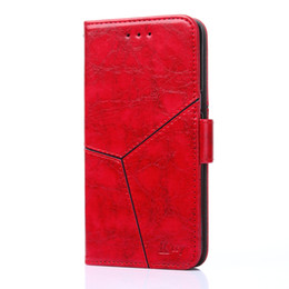 $enCountryForm.capitalKeyWord UK - Luxury red color leather phone case for iPhone X XS XR XS Max cover leather flip wallet phone case for iPhone 6 6S 7 8 Plus back cover