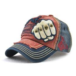 06c1f16d888 New Retro Rivets Baseball Cap Brand Designer Fashion Street Ball Hat High  Quality Cotton Trucker Hat Hip Hop Street Snapback Hat
