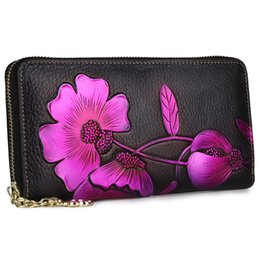 $enCountryForm.capitalKeyWord Australia - evening bag lady real leather day clutches floral print 2019 woman casual fashion party beach clutches small travel hand bags