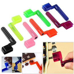 guitar winder Australia - Colorful Guitar String Winder Quick Speed Peg Puller Bridge Pin Remover Tool for Acoustic Electric Guitars Accessories Wholesale