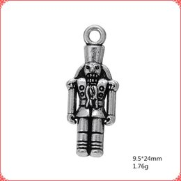 $enCountryForm.capitalKeyWord Australia - 30pcs Antique vintage tibetan Rank-and-file soldiers charms metal dangle alloy pendants for necklace bracelet earring diy jewelry making