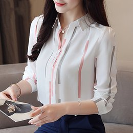 Wholesale ladies linen wear for sale – plus size Ladies Tops Women Blouse Fashion Woman Spring Long Sleeve Women Shirts Shirt Office Work Wear Womens Tops And Blouses