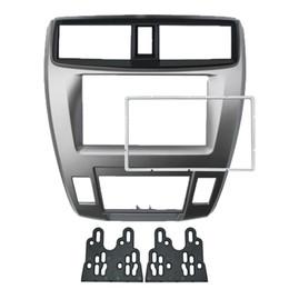 $enCountryForm.capitalKeyWord Australia - Car 2DIN Audio Radio In-dash Fascia Frame For HONDA City Ballade Stereo Dash Panel Plate Frame Installation Kit #4930