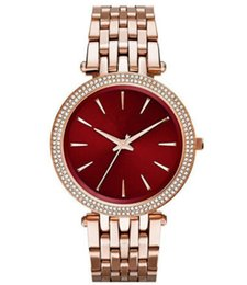 Watches personality online shopping - Dreama New style fashionable personality women s stainless steel quartz watch MK3400 MK3402 MK3406 MK3378 MK3554