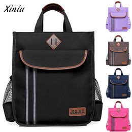 handbag book Australia - Xiniu Quality Kids Children Oxford Cloth Handbag Boys And Girls Messenger Shoulder Bag Satchel Travel Flap Tote School Book Bag