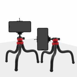 $enCountryForm.capitalKeyWord Australia - New Portable Octopus Tripod Flexible Mini-phone Stand Elevated Rubber Elastic Tripod Single-pole Stand Self-pole Car Bracket