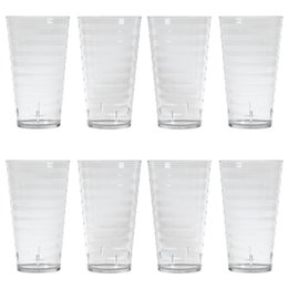 $enCountryForm.capitalKeyWord Australia - Anti falls PC 18 OZ Clear Plastic Acrylic Tumblers Wine Glass Juice Beverage Cup For Hotel Restaurant parlour.