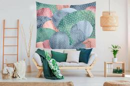$enCountryForm.capitalKeyWord UK - New Cartoon Cactus Wall Art Hanging Tapestry Home Curtain Partition Decor F08