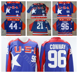 $enCountryForm.capitalKeyWord NZ - USA Movie 21 Dean Portman Jersey Men Ice Hockey Vintage 96 Charlie Conway 44 Fulton Reed Home Blue All Stitched University Free Shipping
