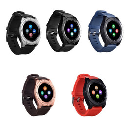 $enCountryForm.capitalKeyWord Australia - Z3 Bluetooth Smartwatch Wristband Android Smart Watch With Camera TF SIM Card Slot For Android With Retail Package