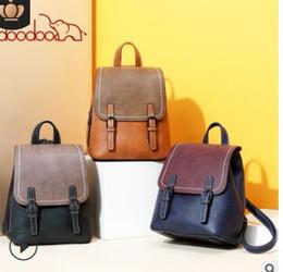 $enCountryForm.capitalKeyWord Australia - South Korea fashion retro lady backpack 2019 new versatile student youth backpack bag bag for a generation002