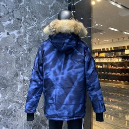 Wholesale long winter parka for men for sale – warmest winter Newest Winter Hooded Thick Mens Down Jacket Fourrure Manteau Canada Down Jacket Coat for Canada Male and Famale Overcoat Outwear Parka CG08