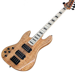 $enCountryForm.capitalKeyWord Australia - Factory Fend 5-string Left Hand ASH Body Electric Bass Guitar with Maple Fingerboard,Black Hardwares,HH pickupcan be customized.