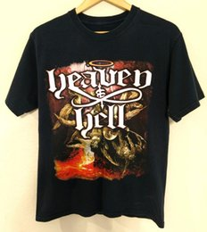 $enCountryForm.capitalKeyWord Australia - Vtg Heaven & Hell Alice Cooper Tour Metal Rock Band Tee Graphic Tshirt Top Men Women Unisex Fashion tshirt Free Shipping