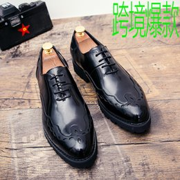$enCountryForm.capitalKeyWord NZ - Charming2019 Agitation England All-match Flow Youth One Pedal Personality Small Nightclub Leather Shoes Male