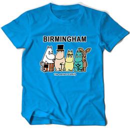 Blue Family Shirt Australia - Birmingham t shirt The perfect family short sleeve tops Cartoon fadeless tees Unisex white colorfast clothing Pure color modal Tshirt