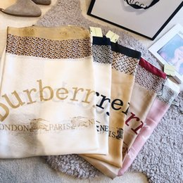 Long Check Scarf Australia - 23 Style Summer Brand Silk scarf for Women Designer Plaid Logo Long Scarves size180x90cm checked scarf